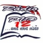Logo da emissora Rádio PVD 12