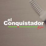 Logo da emissora Radio El Conquistador 91.7 FM