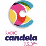 Logo da emissora Radio Candela 95.3 FM