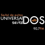 Logo da emissora Radio Universal SeñalDOS 90.7 FM