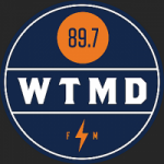 Logo da emissora Radio WTMD 89.7 FM