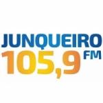 Logo da emissora Rádio Junqueiro 105.9 FM
