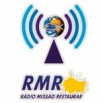 Logo da emissora Rádio Missão Restaurar