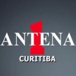 Logo da emissora Rádio Antena 1 Curitiba