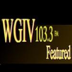 Logo da emissora WGIV 103.3 FM