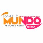 Logo da emissora Radio Mundo 103.1 FM