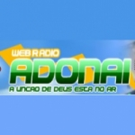 Logo da emissora Web Rádio Adonai