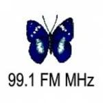 Logo da emissora Radio Marcela 99.1 FM