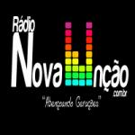 Logo da emissora Rádio Nova Unção