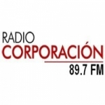 Logo da emissora Radio Corporación 89.7 FM