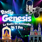 Logo da emissora Radio Genesis 94.1 FM