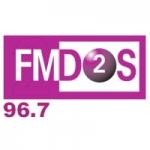 Logo da emissora Radio FM Dos 96.7