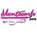Logo da emissora Radio Montecarlo Sur 105.9 FM