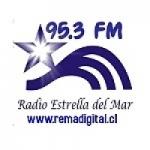 Logo da emissora Radio Estrella del Mar 95.3 FM