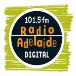 Logo da emissora Radio Adelaide 101.5 FM