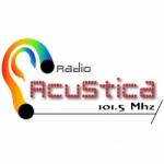 Logo da emissora Radio Acustica 101.5 FM