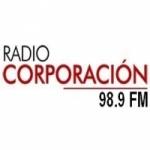 Logo da emissora Radio Corporación 98.9 FM
