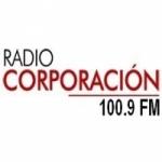 Logo da emissora Radio Corporación 100.9 FM