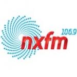 Logo da emissora Radio NXFM 106.9 FM