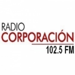 Logo da emissora Radio Corporación 102.5 FM