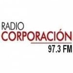 Logo da emissora Radio Corporación 97.3 FM