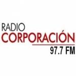 Logo da emissora Radio Corporación 97.7 FM