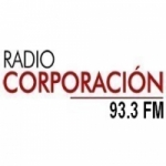 Logo da emissora Radio Corporaci�n 93.3 FM