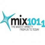 Logo da emissora Radio Mix 101.1 FM