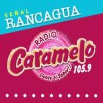Logo da emissora Radio Caramelo 105.9 FM