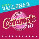 Logo da emissora Radio Caramelo 98.7 FM