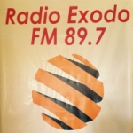 Logo da emissora Radio Exodo 89.7 FM