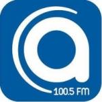 Logo da emissora Radio Artesania 100.5 FM
