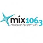 Logo da emissora Radio MIX 106.3 FM