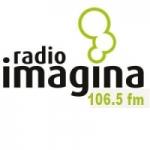 Logo da emissora Radio Imagina 106.5 FM
