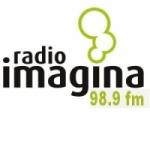 Logo da emissora Radio Imagina 98.9 FM