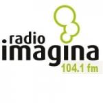 Logo da emissora Radio Imagina 104.1 FM
