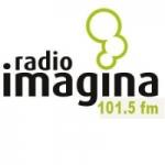 Logo da emissora Radio Imagina 101.5 FM