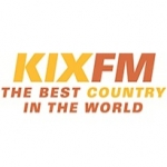 Logo da emissora Kix Country FM