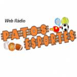 Logo da emissora Web Rádio Patos Esportes