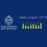 Logo da emissora Radio Unap 107.9 FM