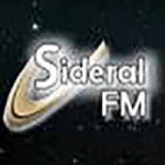 Logo da emissora Rádio Sideral FM