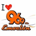 Logo da emissora Radio Emoci�n 96.9 FM