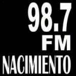 Logo da emissora Radio Nacimiento 98.7 FM