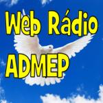 Logo da emissora Admep
