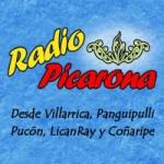 Logo da emissora Radio Picarona 104.5 FM