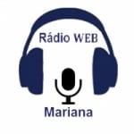 Logo da emissora Rádio Web Mariana