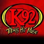 Logo da emissora WXLK K 92.0 FM