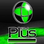 Logo da emissora Radio Plus 95.5 FM