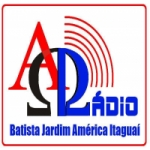 Logo da emissora Rádio Batista Jardim América Itaguaí