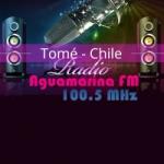 Logo da emissora Radio Aguamarina 100.5 FM